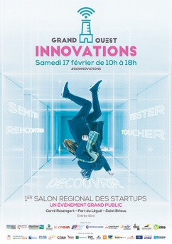 salon startups Grand Ouest Innovations Bretagne 2018