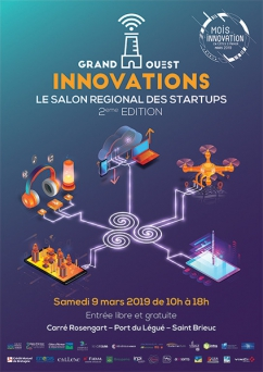 salon startups Grand Ouest Innovations Bretagne 2019
